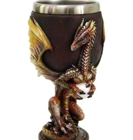 Pacific Trading Dragon Goblet