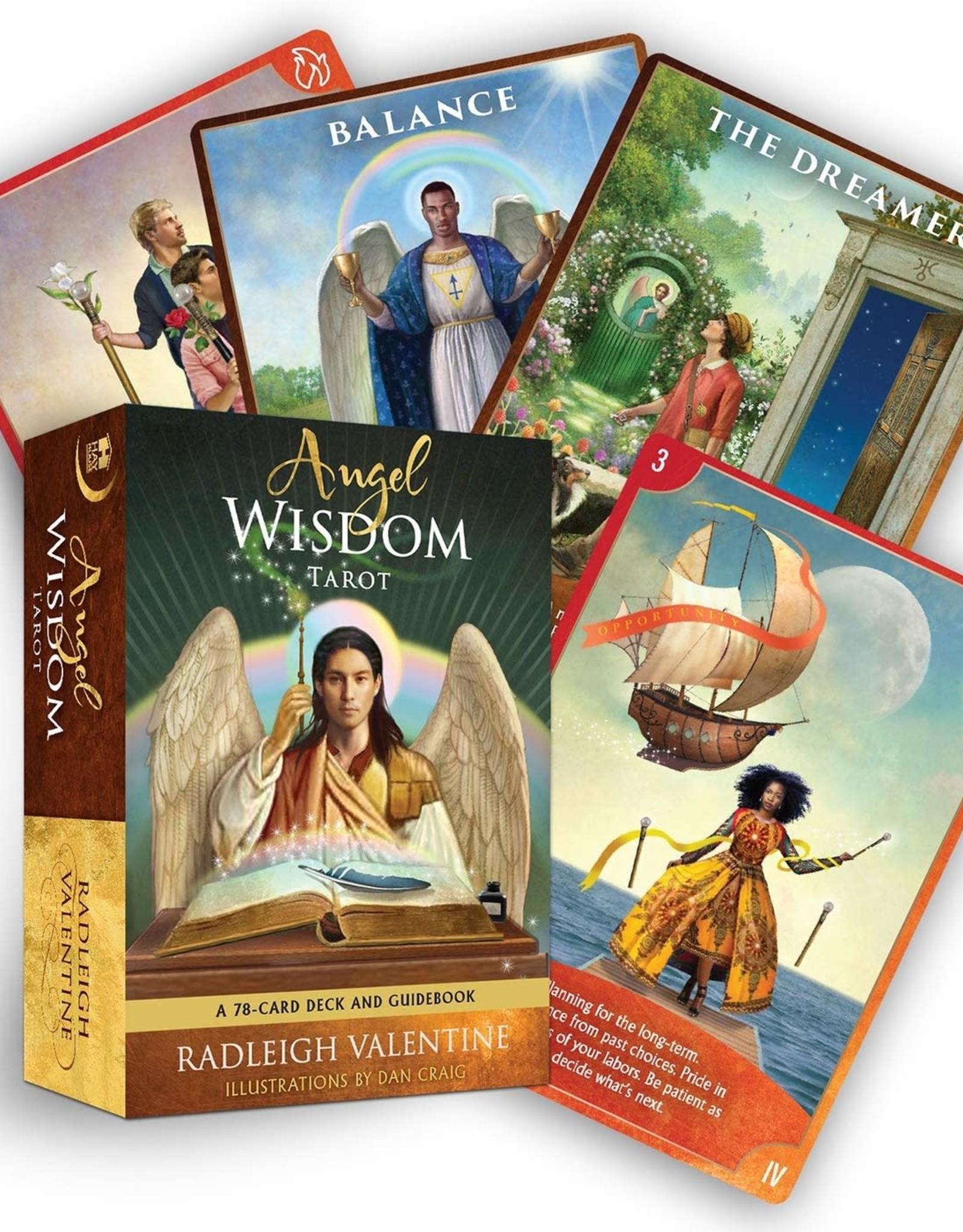 Radleigh Valentine Angel Wisdom Tarot by Radleigh Valentine