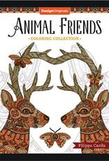 Design Originals Animal Friends Coloring Book by Design Originals