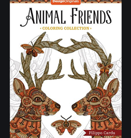 Design Originals Animal Friends Coloring Book by Design Originals