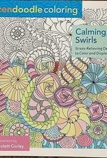 Zendoodle Calming Swirls Coloring Book by Zendoodle