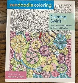 Zendoodle Calming Swirls Coloring Book by Zendoodle