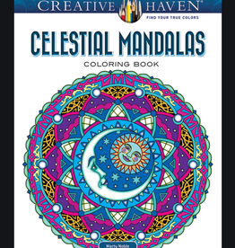 Creative Haven Celestial Mandalas Coloring Book by Creative Haven