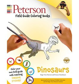 Peterson Dinosaurs - Field Guide Coloring Book by Peterson