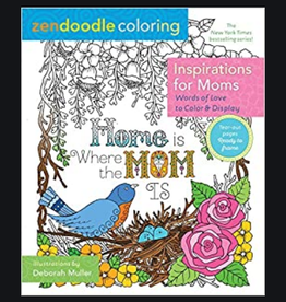 Zendoodle Inspirations for Moms Coloring Book by Zendoodle