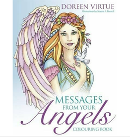 Doreen Virtue Messages from Your Angels Coloring Book by Doreen Virtue