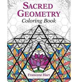 Francene Hart Sacred Geometry Coloring Book by Francene Hart