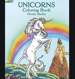 Dover Publications Unicorns Coloring Book by Christy Shaffer