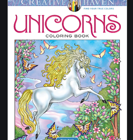 Creative Haven Unicorns Coloring Book by Creative Haven