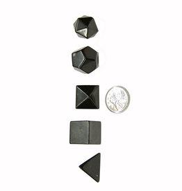 Platonic Solids Set - Shungite
