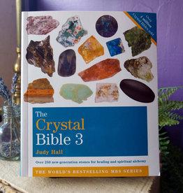 Judy Hall Crystal Bible 3 by Judy Hall