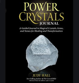 Judy Hall Power Crystals Journal by Judy Hall