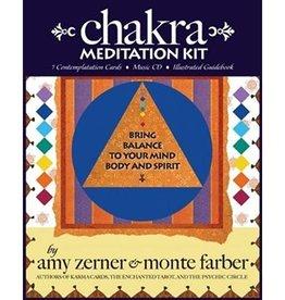 Amy Zerner Chakra Meditation Kit by Amy Zerner & Monte Farber