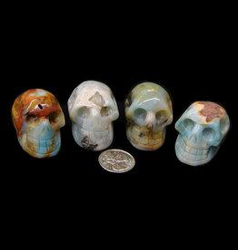 "Amazonite Skull 2"" - $27"
