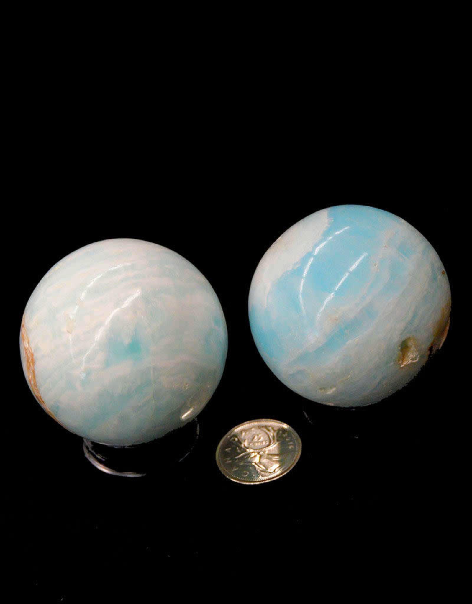 """Caribbean Calcite Spheres 2"""" - $63"""
