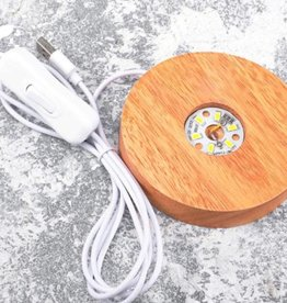 USB Crystal Light Stand