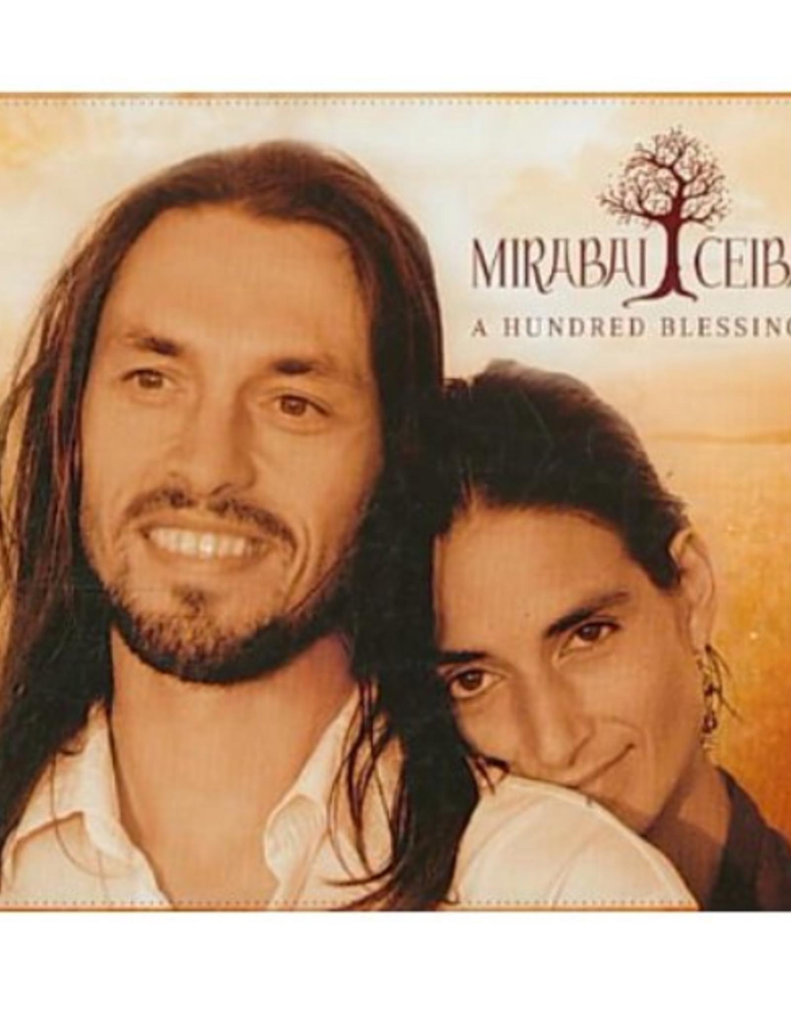 Mirabai Ceiba A Hundred Blessings CD by Mirabai Ceiba