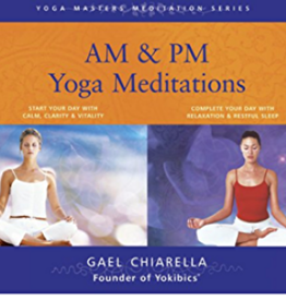Gael Chiarella AM & PM Yoga Meditation CD's by Gael Chiarella