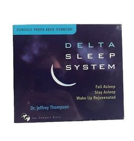 Dr. Jeffrey Thompson Delta Sleep System CD's by Dr. Jeffrey Thompson
