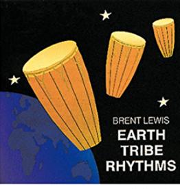 Brent Lewis Earth Tribe Rhythms CD by Brent Lewis