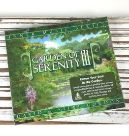 David Gordon Garden of Serenity III CD by David & Steve Gordon