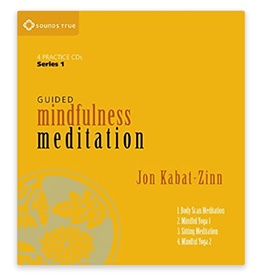 Jon Kabat-Zinn Guided Mindfulness Meditation Series 1 CD by Jon Kabat-Zinn
