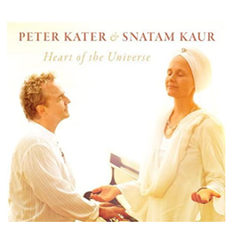 Peter Kater Heart of the Universe CD by Peter Kater & Snatam Kaur