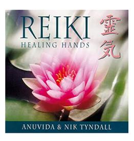 Anuvid Tyndall Reiki Healing Hands CD by Anuvid & Nik Tyndall