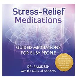 Ramdesh Kaur Stress - Relief Meditations CD by Ramdesh Kaur