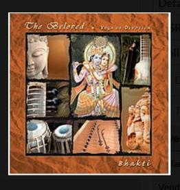 Bhakti Beloved CD by Bhakti