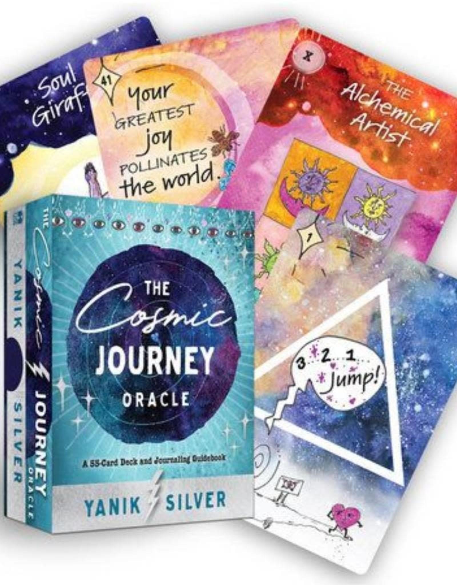 Yanik Silver The Cosmic Journey Oracle by Yanik Silver