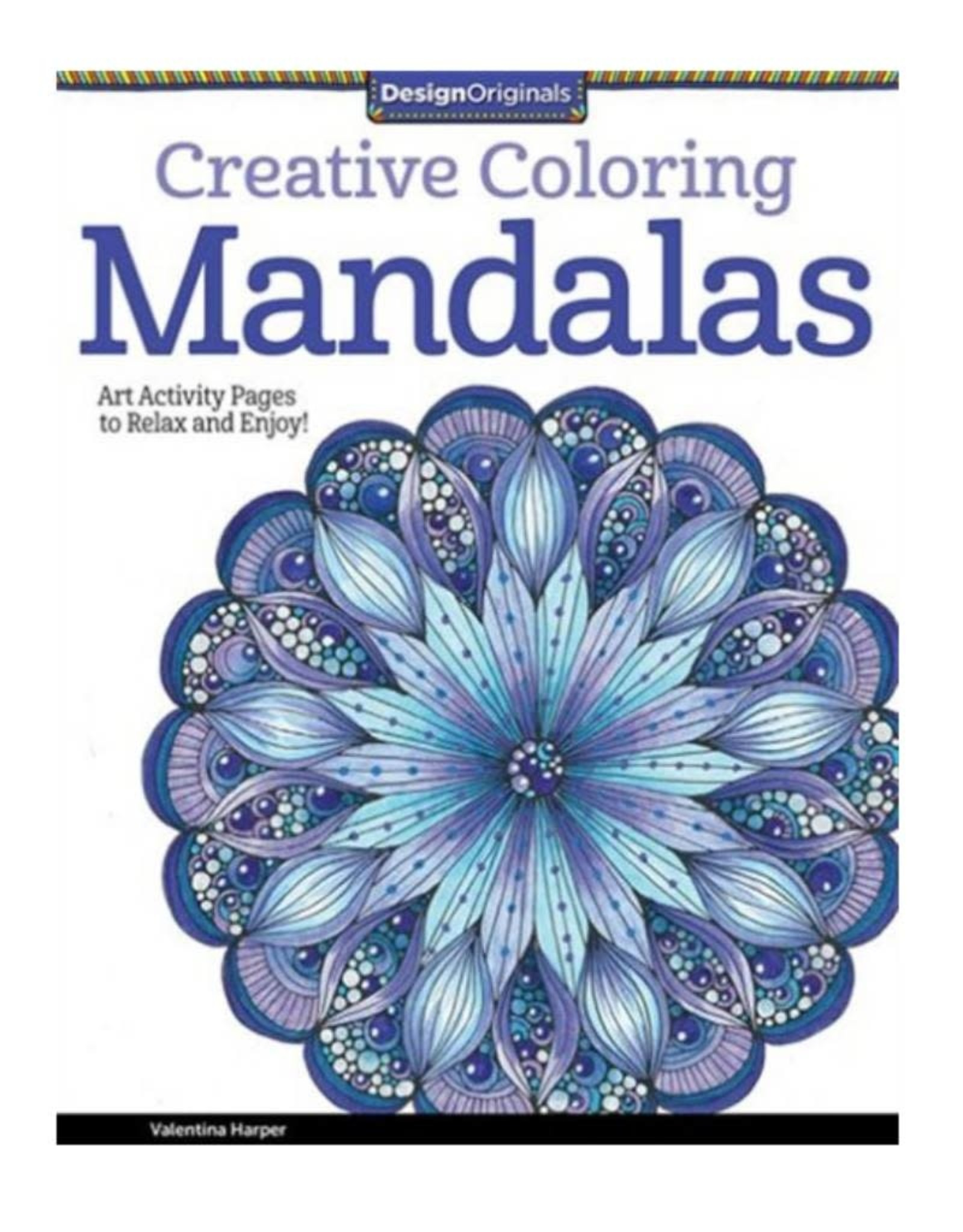 Design Originals Mandalas Colouring Book