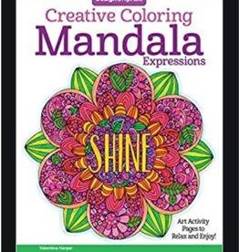 Design Originals Mandala Expressions Colouring Book