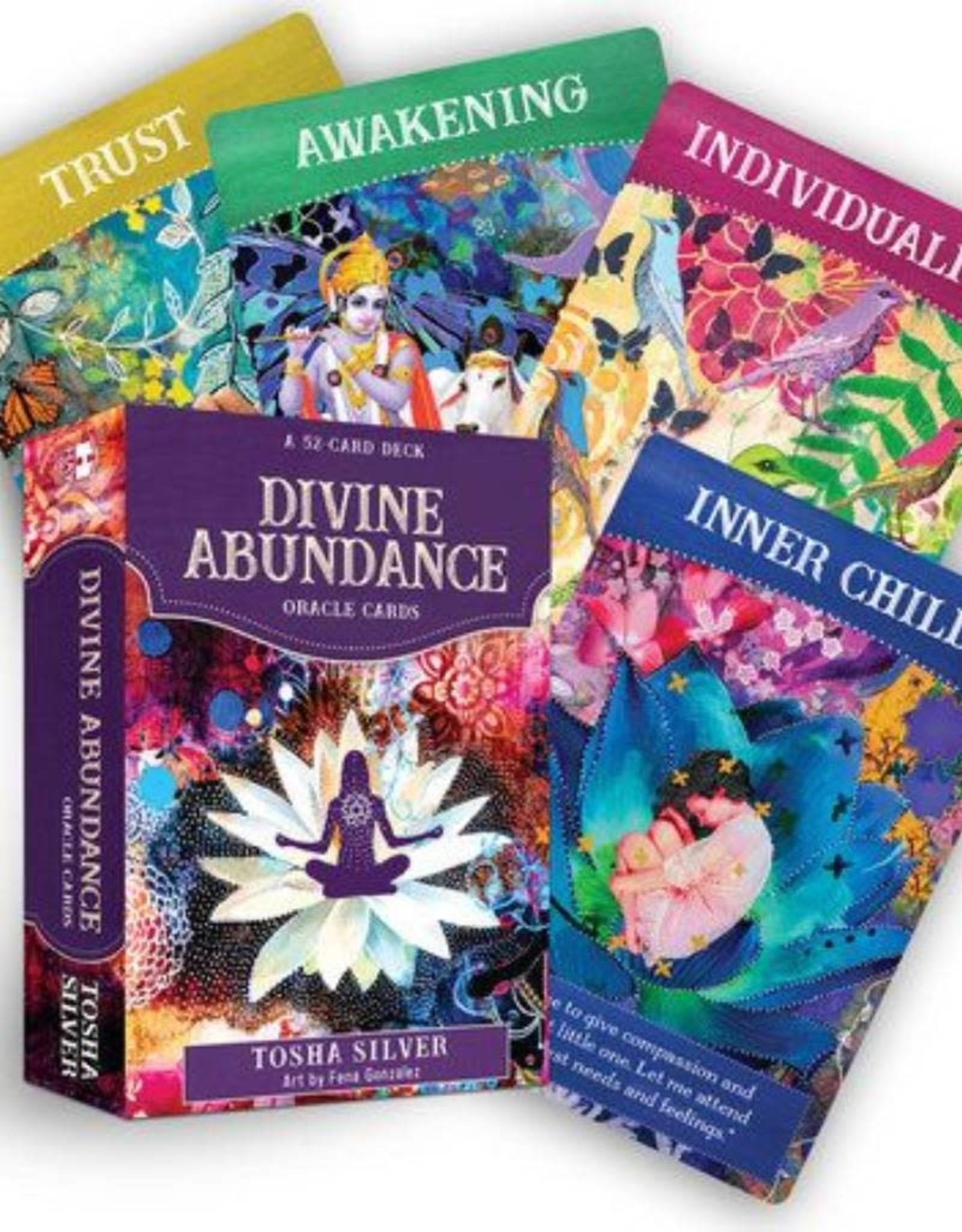Tosha Silver Divine Abundance Oracle Cards by Tosha Silver