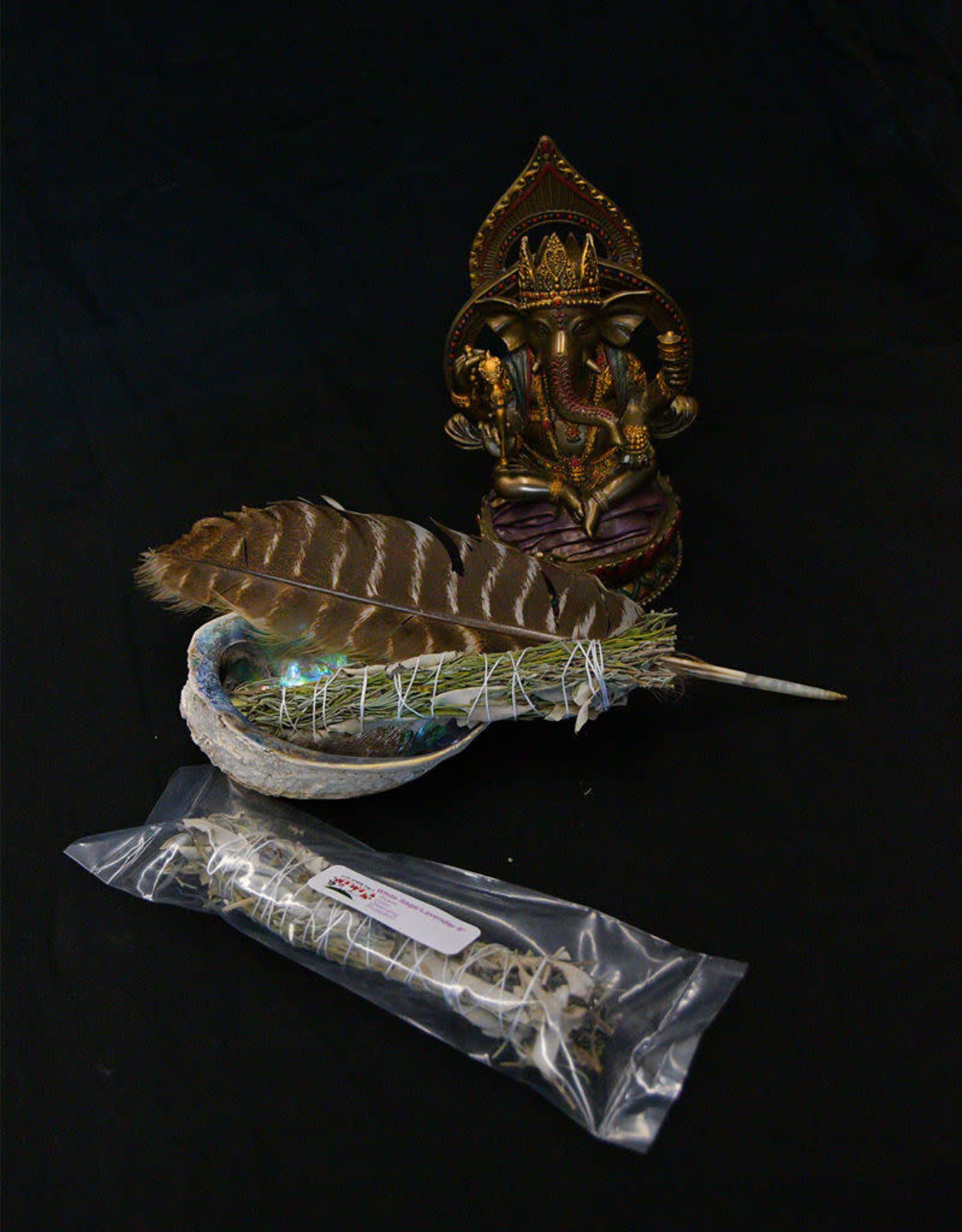 """8"""" Smudge Stick - White Sage & Lavender"""