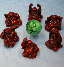 Red 3in Buddha - Assorted