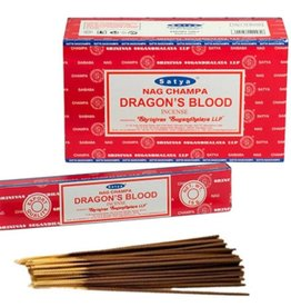 Satya Dragons Blood SATYA Incense Sticks