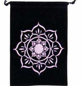 """Lotus Velvet  Tarot Bag 5"""" x  7"""""""