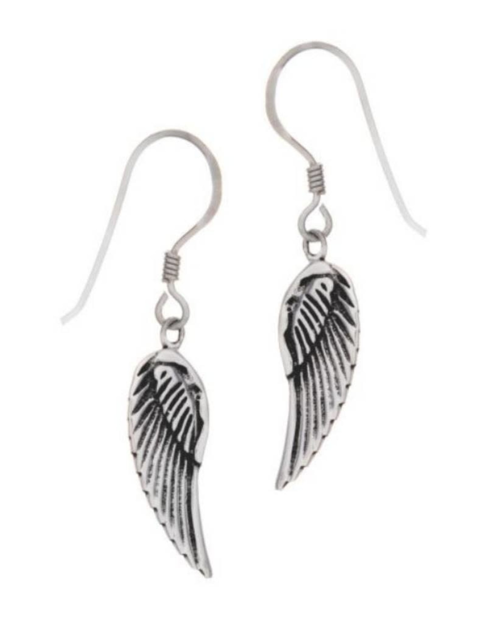 Angel Wings Sterling Silver Earrings