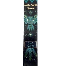 Native Spirits Owl Native Spirits Incense Sticks