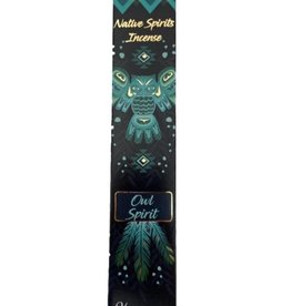 Native Spirits Owl Spirit Incense Sticks