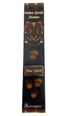Native Spirits Bear Spirit Incense Sticks