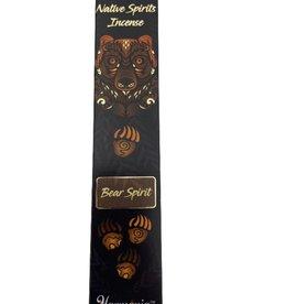 Native Spirits Bear Spirit Incense Sticks