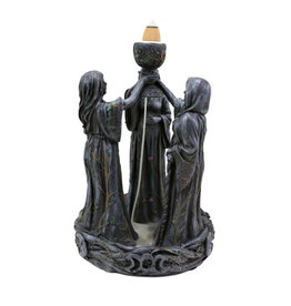 Pacific Trading Backflow Incense Burner - Mother Maiden Crone