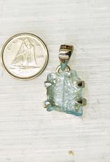 Aquamarine Pendant C Sterling Silver