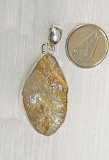 Astrophyllite Pendant Sterling Silver