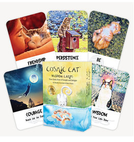 Randy Crutcher Cosmic Cat Wisdom Deck by Randy Crutcher & Barb Horn