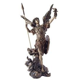 """Wise Unicorn Archangel  Uriel Statue  - 2 1/3"""" x 1 4/7"""" x 4 1/2"""""""
