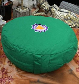 "Assorted Meditation Round Cushion 15 x 6"""