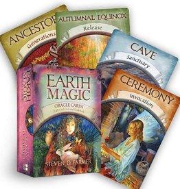 Steven D.  Farmer Earth Magic Oracle by Steven D. Farmer